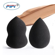 Black Water Drop Shape Cosmetic Puff Makeup Sponge Blending Face Foundation Cream Blending Cosmetic Powder Puff