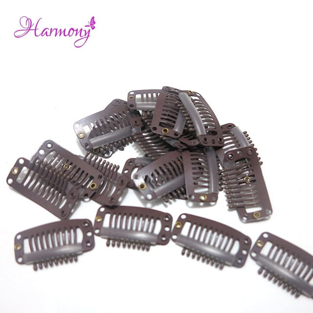 50 Pieceslot Wig Hair Clips 32mm Snap Clips For Hair Extension I
