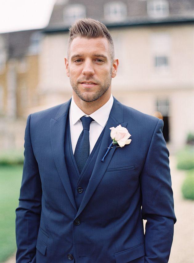 Navy Blue Mens Wedding Suits | My Dress Tip