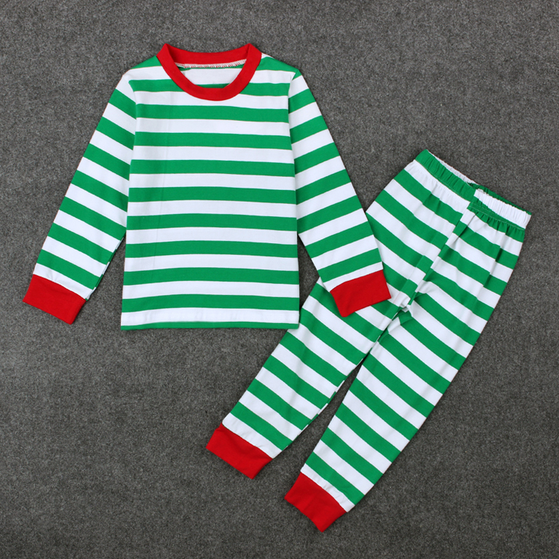55586e984089 2016 Baby Boys Girls Christmas Pajamas Kids Long Sleeve Xmas PJS ...