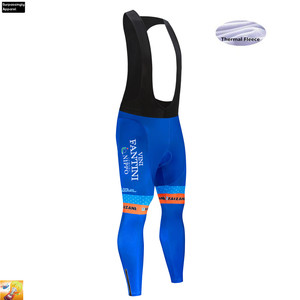 Image 3 - Cycling Jerseys VINI Orange Winter Thermal Fleece Men MTB Mountain Bike Clothing Road Bicycle Wear Breathable Maillot Culotte