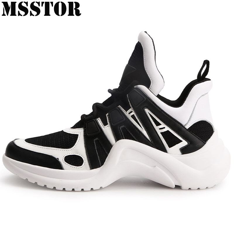MSSTOR Women Running Shoes Breathable Mesh Woman Brand Sports Run Outdoor Athletic Womens Sneakers Walking Sport Shoes For Women peak sport men outdoor bas basketball shoes medium cut breathable comfortable revolve tech sneakers athletic training boots