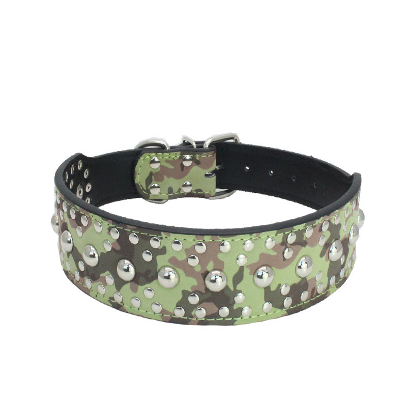 2018 Fashion PU Leather Pet Dog Collar With Simple Style For Large Medium Dogs Pet Supplies