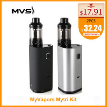 Russian/USA Warehouse Original MyVapors myTri Kit with KAGE Atomizer Output 300W VW/TC/TCR Mode Vpae Kit E-Cig(China)
