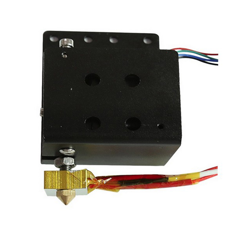 Anet A8 Extruder Head MK8 Motor Kit 3D Printer Part J-head Hotend Nozzle Feed Inlet Diameter 1.75 Filament Extra Nozzle