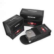 Drone Battery Bag Storage Lipo Safe Case Explosion-Proof For DJI Mavic 2 Pro/Mavic Zoom Accessories explosion proof box dji mavic 2 pro zoom bag box high capacity storage case for dji mavic 2 pro mavic 2 zoom drone accessories