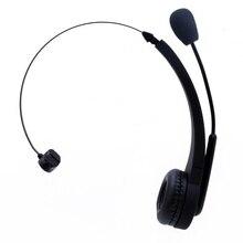 TTLIFE Auricular Bluetooth para el Coche Camión Controlador Inalámbrico de Auriculares Con el Mic para Centro de Llamadas VoIP Skype Teléfono Móvil