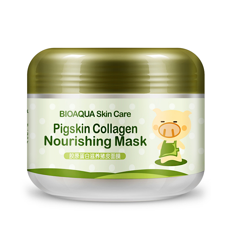 bioaqua brand sleep treatment face maskers whitening stickers cleansing blackheads remover carbonated bubble clay mask skin care bioaqua exfoliante para pies