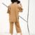 [Soonyour] 2017 primavera nova moda cáqui cor sólida Com Decote Em V manga morcego tricô suéter de lã calças perna larga mulheres terno CS531