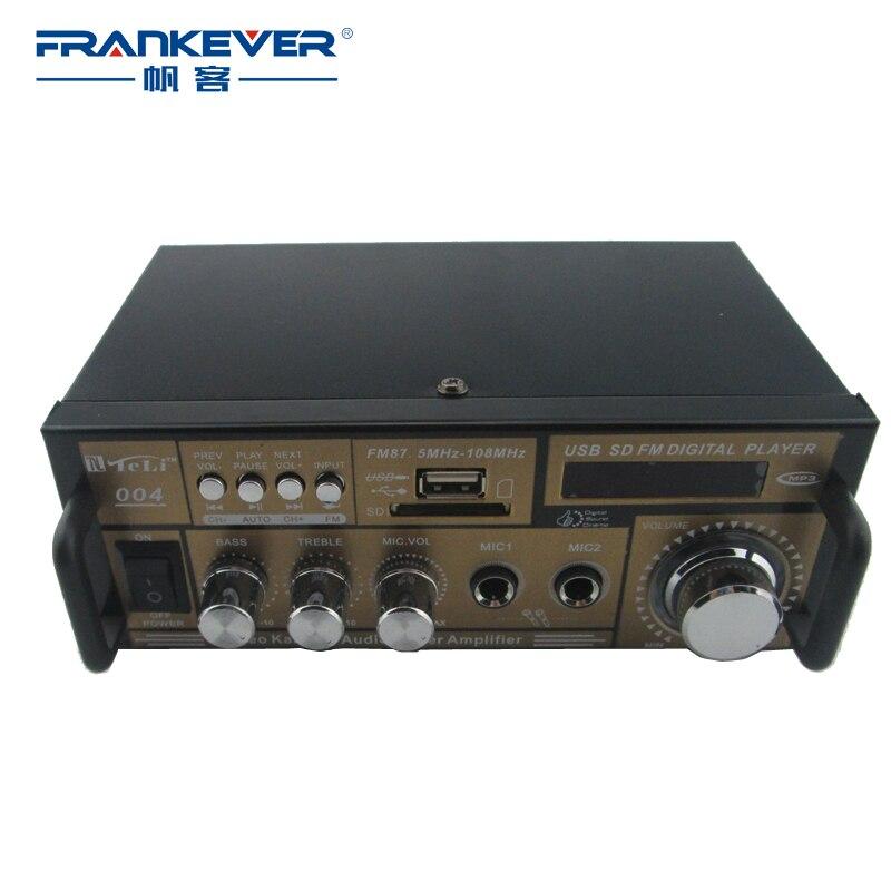 Frankever HiFi DC12V AC200V-240V Υψηλής ποιότητας ψηφιακός ενισχυτής ήχου αυτοκινήτου Subwoofer Δωρεάν αποστολή AMP για αυτοκίνητο tpa3116 TELI004