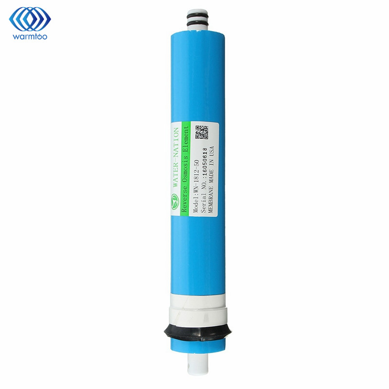 50 GPD RO Membrane Reverse <font><b>Osmosis</b></font> Water System Filter Purification Water Filtration Reduce Bacteria Home Kitchen