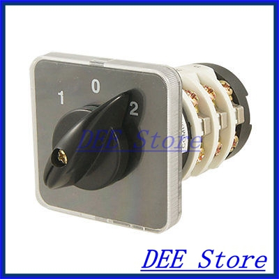 1-O-2 Position Master Control Rotary Combined Switch