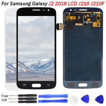 J210 LCD For Samsung Galaxy J2 Display  J210 Touch Screen Digitizer Replacement J210F Display mobile LCD repair for samsung j2 все цены