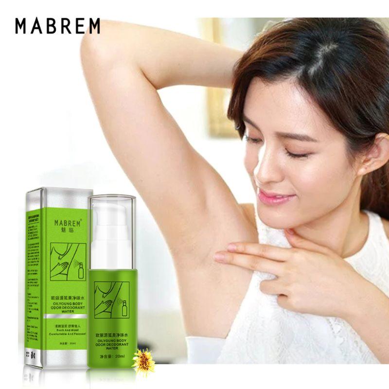 20ml Removing Body Odor Deodorant Water Summer Antiperspirant Spray Underarm Sweat Deodorization Odor Clean