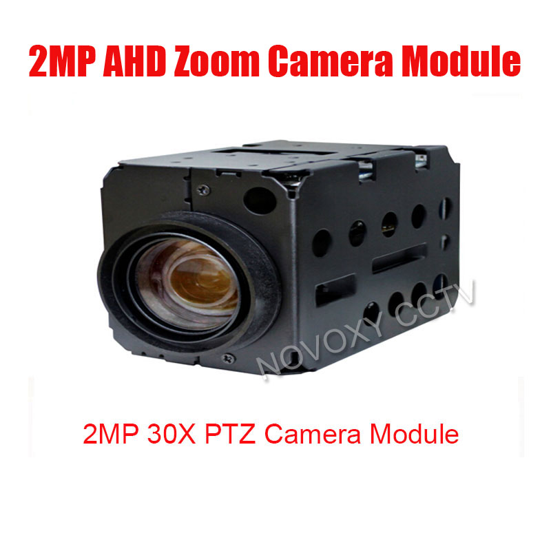 Free shipping 2MP AHD 30x Optical Auto Focus Digital CCTV Security PTZ Speed Dome Camera Zoom Module 3.3~99mm Lens dc v100 15mp cmos digital camera w 5x optical zoom 4x digital zoom sd slot pink 2 7 tft