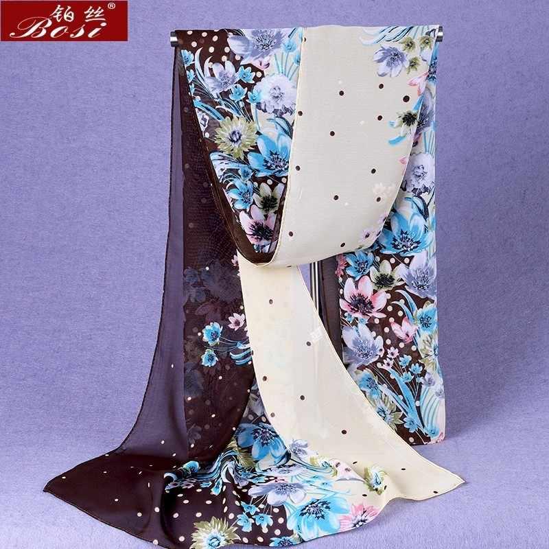 Sjaal Chiffon Winter Poncho Vrouw Designer Luxe Merk Hijab Hoofd Sjaal Stola Lente Etnische Schal Bohemian Foulard Cheveux ..