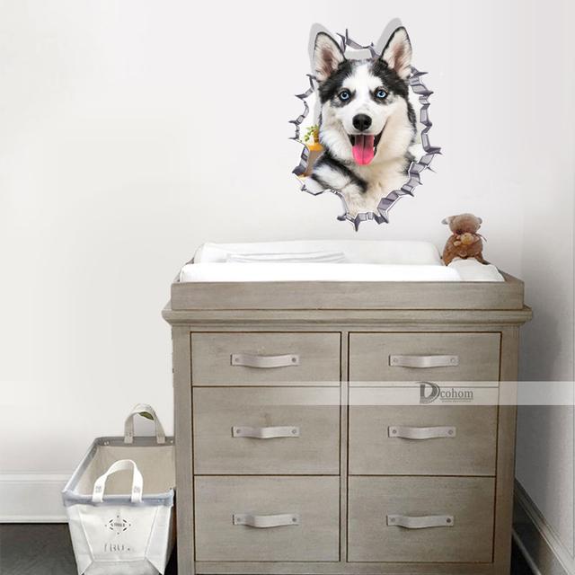 Various Cute Kitten Animal Cartoon Cat Wall Sticker 3D Vivid Baby Kid Room Bathroom Decors Peel & Stick Toilet Sticker