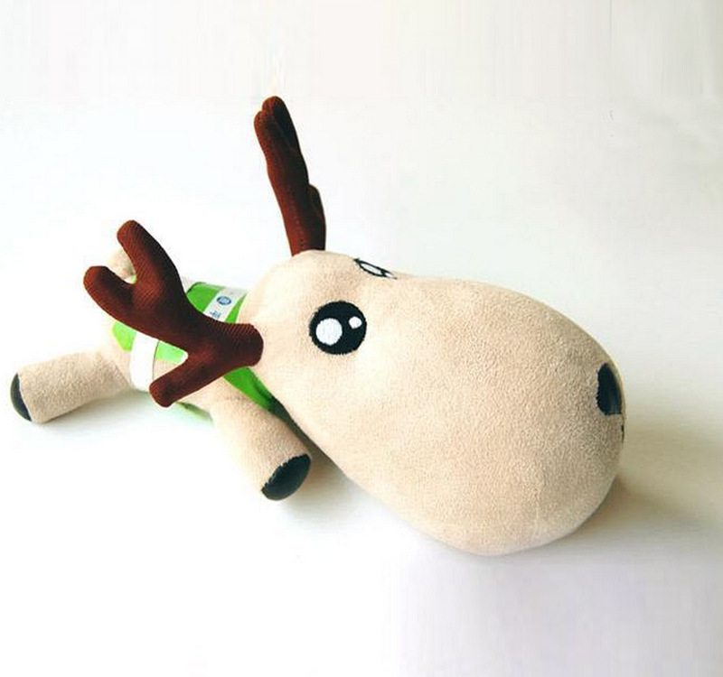 One Deer Peace Deer Bamboo Charcoal Doll Plush Toys Wholesale Company Annual Meeting Gift