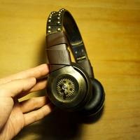 Steampunk Headphone gear Retro GURPS Punk Metal Vintage fashion Mechanical Earphone Wear Decorative accessories