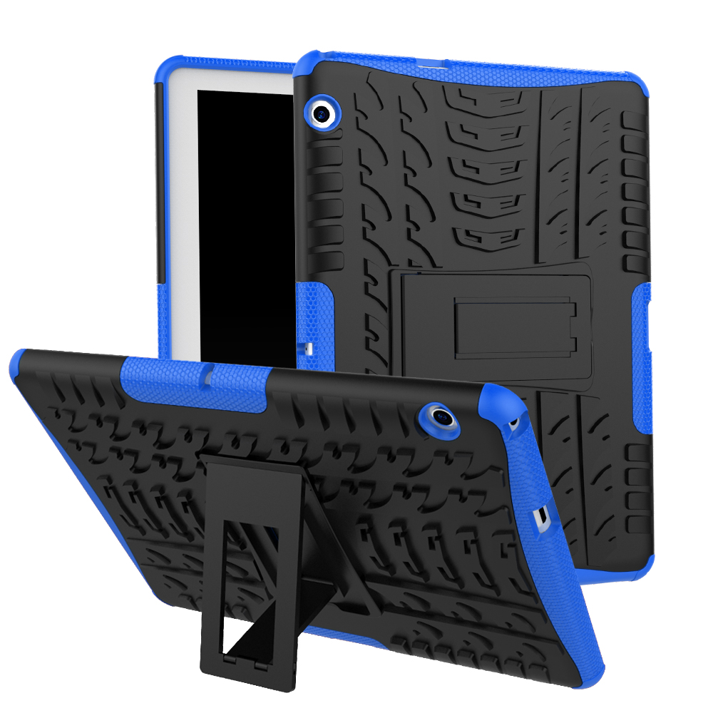 2 In1 Hybrid Heavy Duty TPU Case For Huawei Mediapad T5 10 AGS2-W09/L09/L03/W19 Shockproof Rugged Tablet Cover +Pen