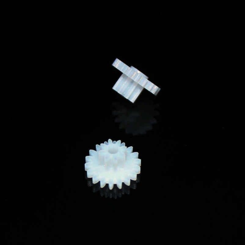 18082A Dubbeldeks Gear Wheel Plastic Tandwielen DIY Model Auto Speelgoed Fittings Technologie Model Accessoires