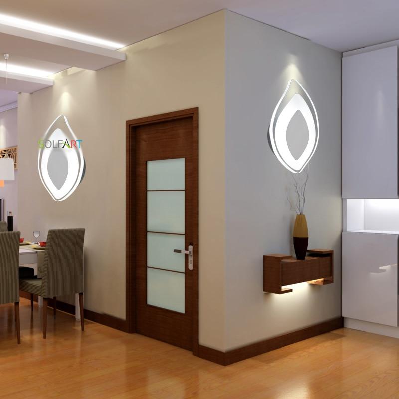 SOLFART shpon llambat e mureve për fletë të ndritshme në shtëpi, - Ndriçimit të brendshëm - Foto 3