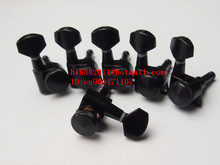 free shipping new electric guitar closed lock strings tuning peg in black guitar button JN-07SP JN-24