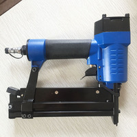 SAT1672 SF5040 A Pneumatic Nail Gun Woodworking Air Stapler Nails Carpentry Decoration