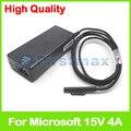 15 v 4a 60 w a1706 laptop ac carregador adaptador para microsoft surface pro 4 superfície livro fonte de alimentação