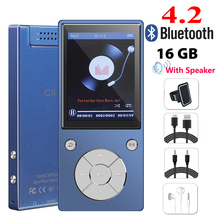 Original Speaker mp4 Player 16GB HIFI Lossless Sound music alloy mp4 Music Player FM Radio Voice Recorder E-Book  Photo Viewer цена и фото