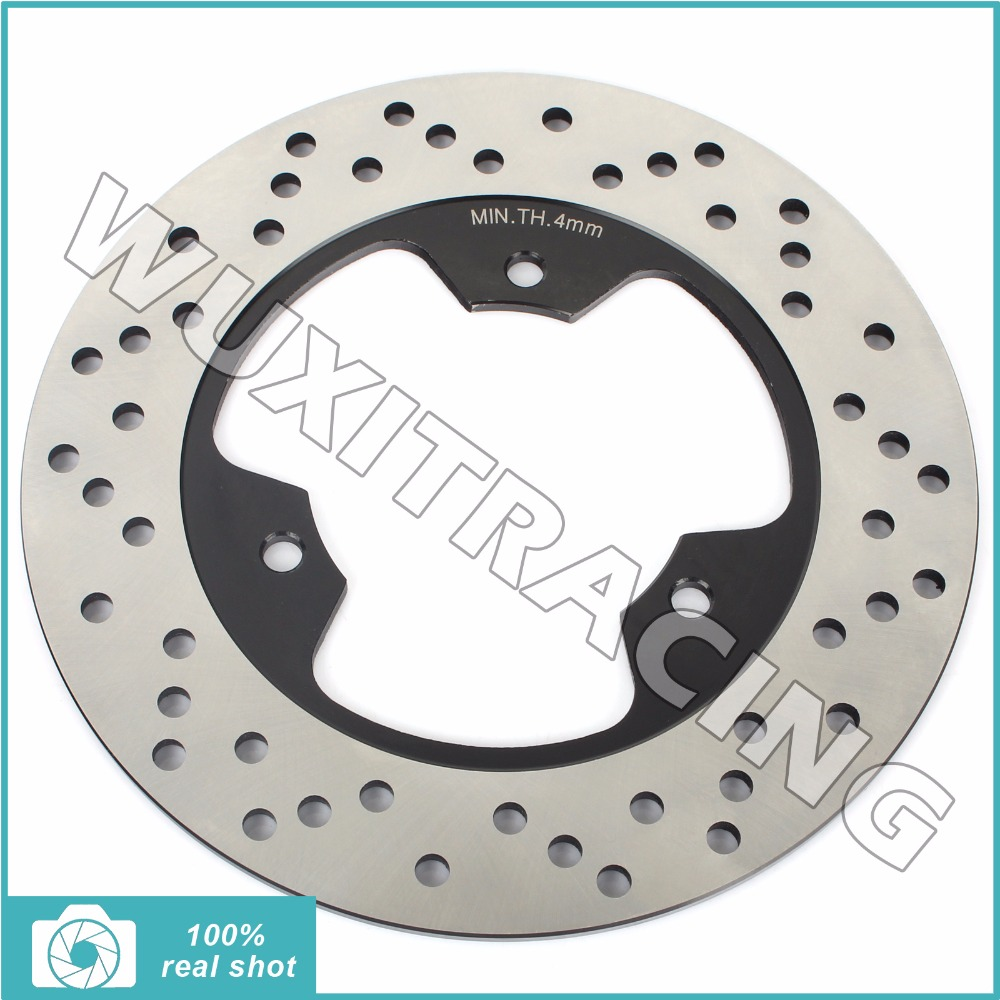 Rear Brake Disc Rotor for YAMAHA R1-Z 250 350 90-97 SDR 200 87-89 SRX 600 SZR 660 95-01 TDR 250 TZR 125 150 250 R RS SPR 85-96 rear brake disc rotor for yamaha tzr 125 150 r rr sdr 200 fzr 250 exup tzr125 1989 1990 1991 1992 sdr200 tzr 125 tzr150