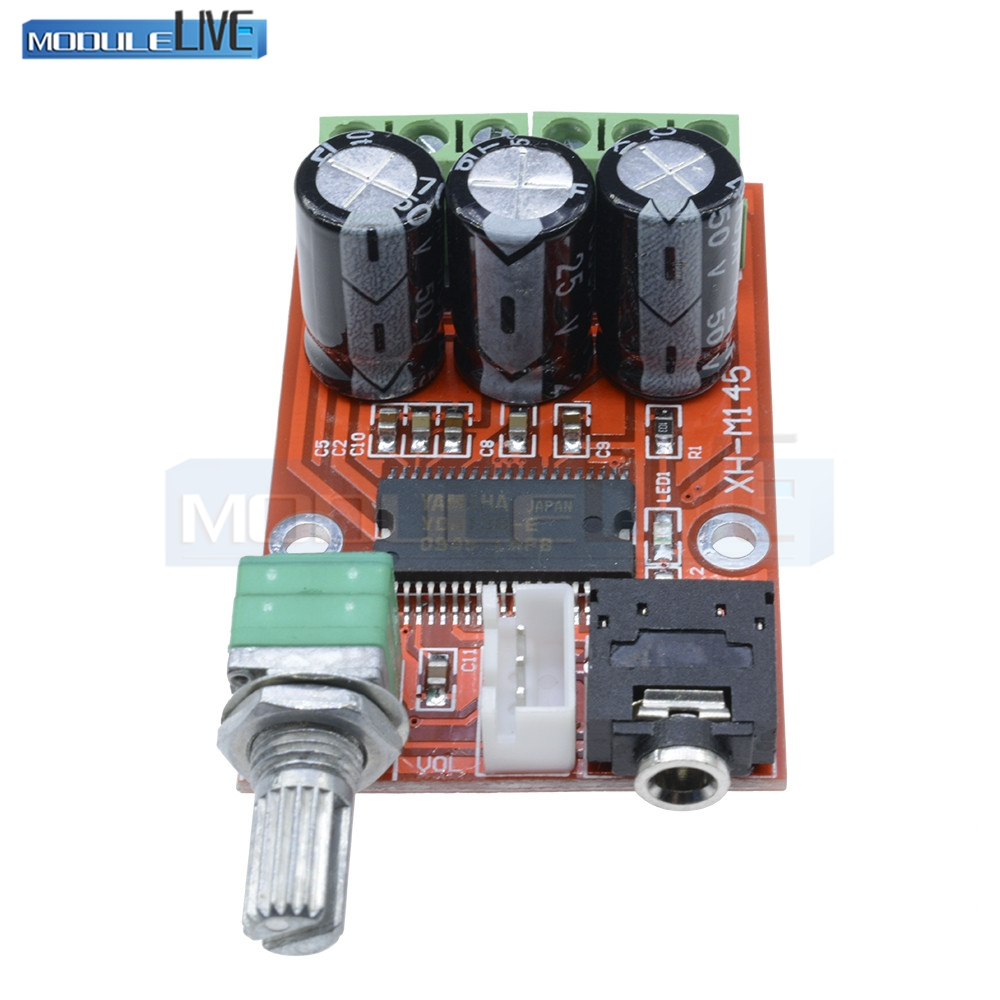 YDA138-E YAMAHA 12W+12W Dual Channel Digital Audio Amplifier Board DC 12V GM