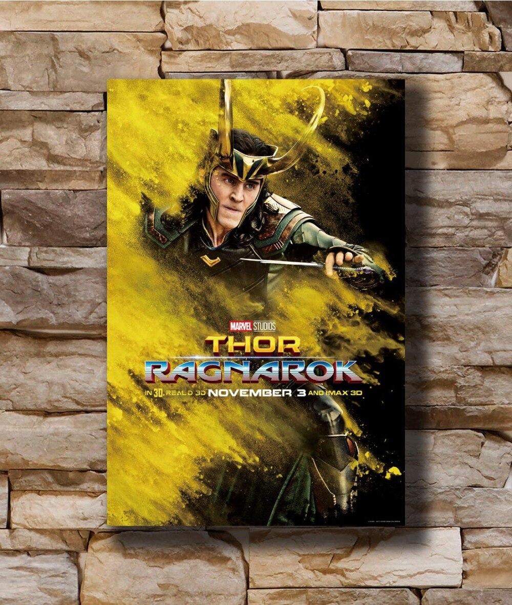 LOKI AVENGERS THE DARK WORLD MOVIE Art Silk Poster 12x18 24x36