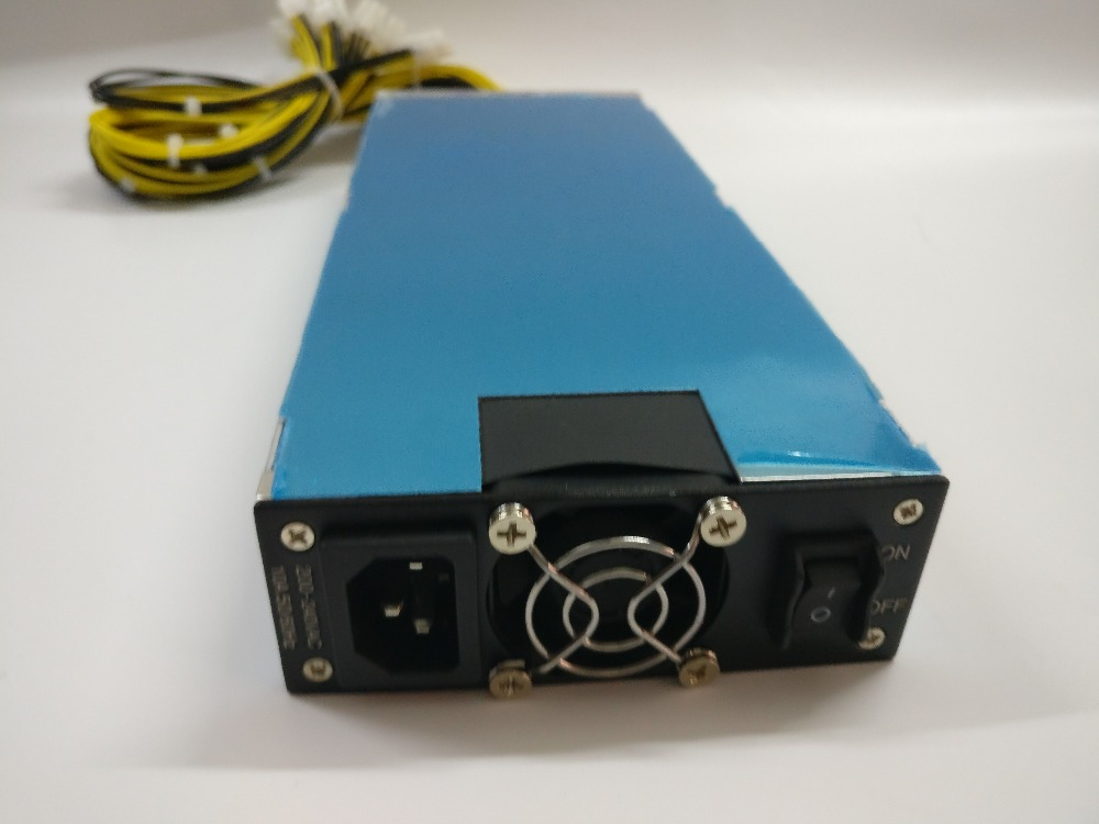 YUNHUI 1600W power supply CAN FOR ANTMINER S9/S7 Antminer miner L3/L3+ PINIDEA miner DRX DR3 DR2  A4 dominator miner MAX 1680W spot goods antminer s5 1155 gh s asic miner bitcon miner 28nm btc mining sha 256 miner power consumption 590w