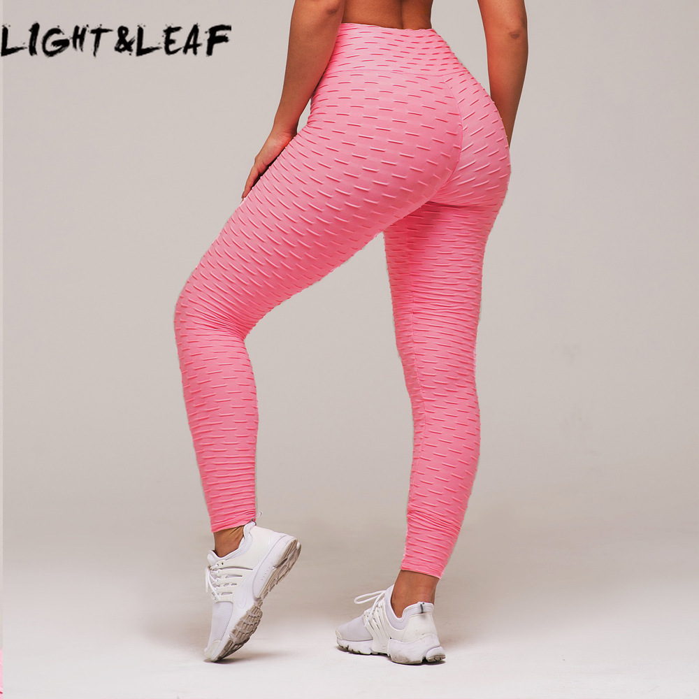 light&leaf 12 colors women workout leggings push up solid leggings seamless gyms leggings fashion sexy girls pants ,LTW0015