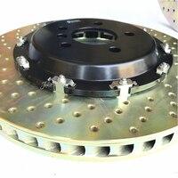 Jekit серого чугуна тормозного диска 370*36 мм с алюминиевой центр шапка для 8520 тормозная система для BMW e92 m3 переднего колеса
