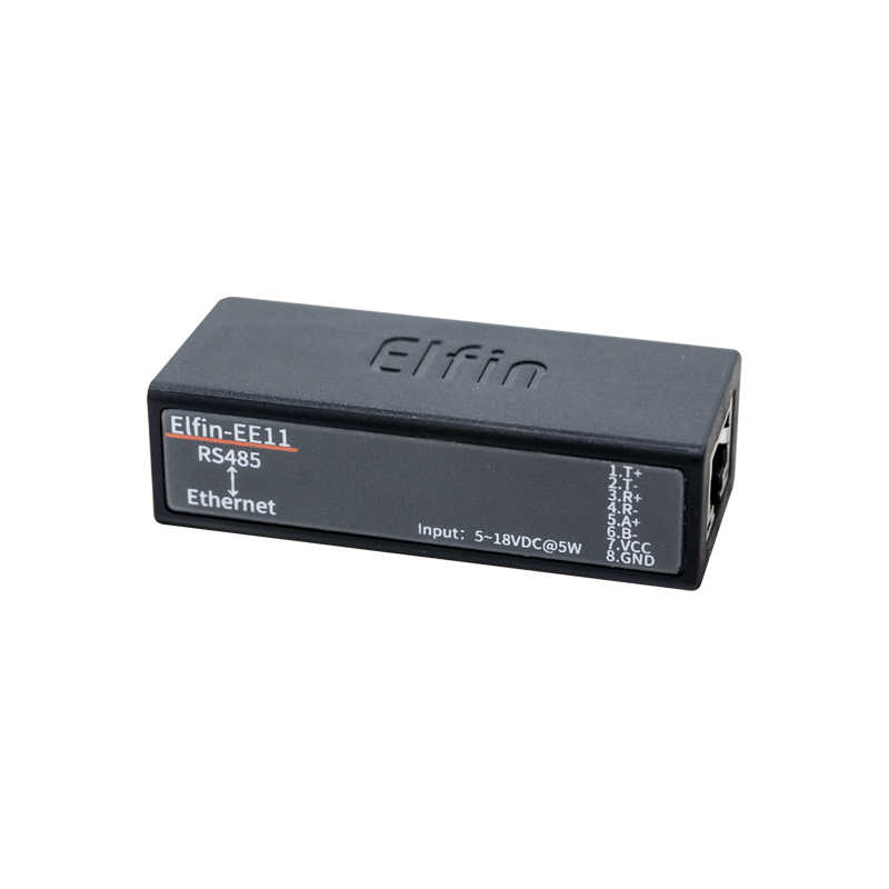 Серийный Порты и разъёмы RS485 для оптоволкна вай-сервер последовательных устройств модуль Поддержка Elfin-EE11 TCP/IP Telnet протокол Modbus TCP