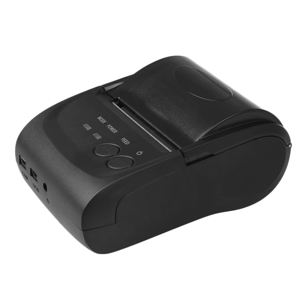 New 58mm Mini Receipt POS-5802LD Thermal Printer for Windows for Android Smartphone with Bluetooth 4.0 4.3 Wholesale