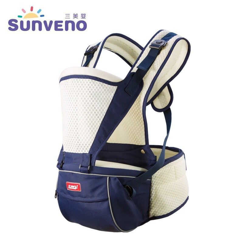 цены на 2018 SUNVENO Baby Carrier 0-36Months Summer Breathable Hipseat Carrier baby Ergonomic Sling Baby Carrier M56
