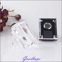 Acrylic Loose Diamond Display Holder Case Wedding Gem Gemstone Show Beads Jewellery Showcase Storage Container Casket