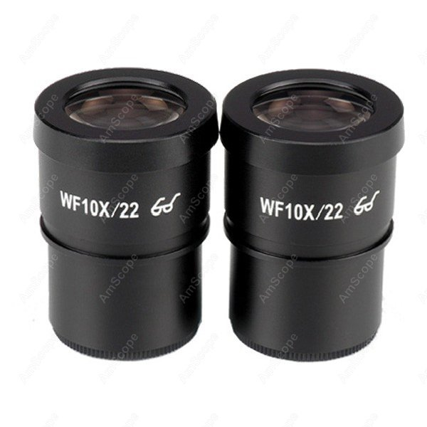 Microscope Eyepiece-AmScope Supplies Pair of Extreme Widefield 10X Eyepieces (30mm)  цены