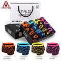 A ARCITON Best Selling 4pcs/lot Mens Underwear Boxers Cotton Underwear Men Boxer Shorts Cueca Mix Colors (N-876)