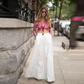 2016 New Style White Maxi Skirts Fashion A Line Floor Length Satin Skirts With Pockets For Women Dramatic Long Skirts