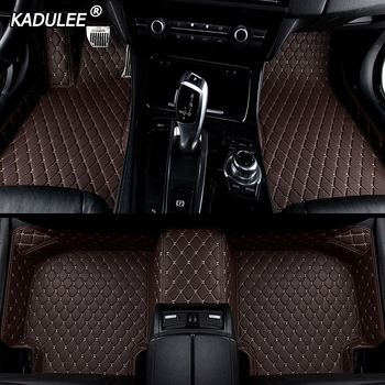 KADULEE Custom car floor Foot mat For skoda superb 2017 3 kodiaq yeti octavia rs 1 fabia 3 karoq rapid 2017 auto accessories image