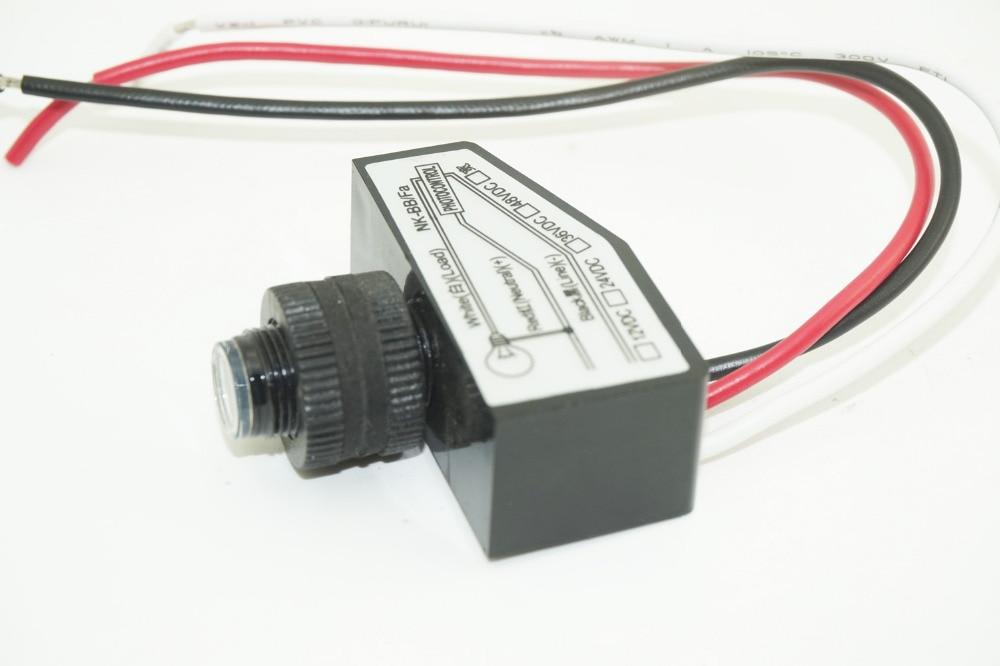 10Pcs lot Button Style Dusk To Dawn Photocell Sensor Light Up The Night 12V 24V 36V