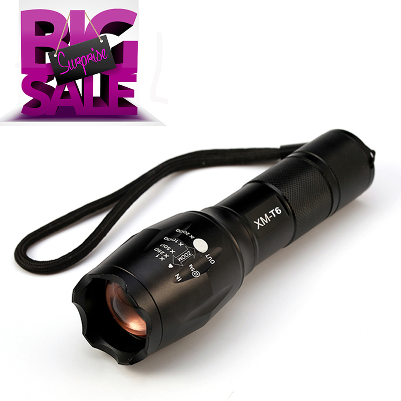 Lanterna Flashlight CREE XM-L2 6000lm  LED Torch Zoomable Linternas LED Flashlight Tactical flashlight For 3xAAA or 1x18650 cree xm l2 8000 lumens lanterna x900 flashlight torch zoomable linternas led flashlight 3xaaa or 1x 18650 rechargeable battery
