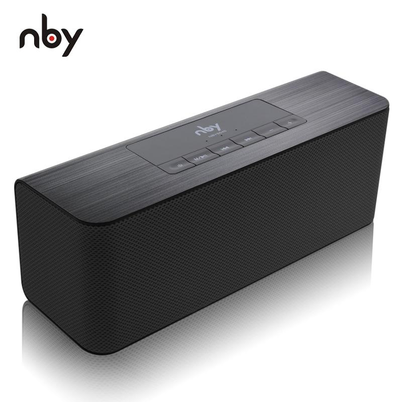 NBY 5540 Bluetooth Lautsprecher Tragbare Drahtlose Lautsprecher High-definition Dual Lautsprecher mit Mic TF Karte Lautsprecher MP3 Player