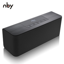 NBY 5540 Bluetooth Speaker Portable Wireless Speaker High definition Dual Speakers with Mic TF Card Loudspeakers MP3 Player