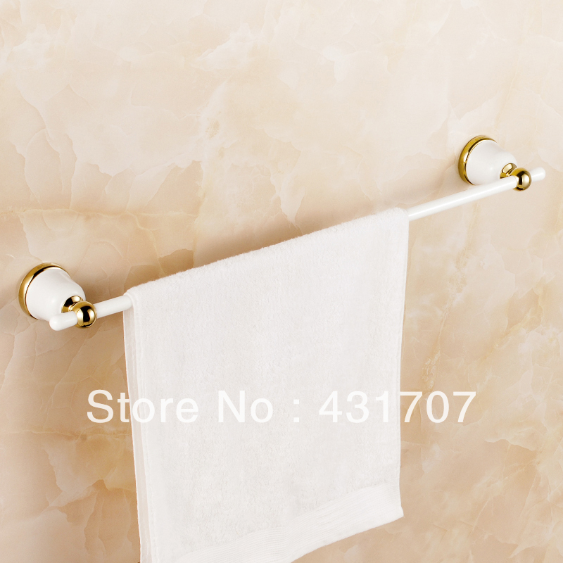 free shipping copper single towel bars towel rail kitchen bath fixtures bathroom accessories noble