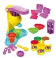 Playdough Polymer Clay Dough Plasticine Ice Cream Mould Play Kit Diy Toy with retail box